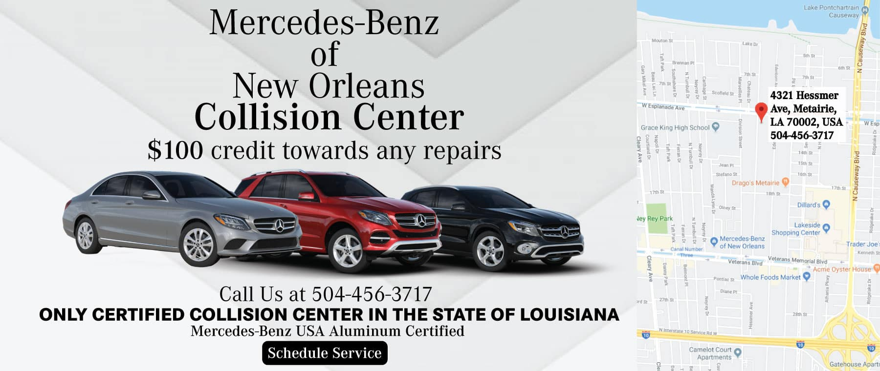 Mercedes-Benz of New Orleans   New & Used Dealership