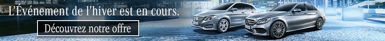 Offre promotionnel hiver 2017 - 2018 chez Mercedes-Benz Rive-Sud