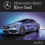 Le Mercedes-Benz CLA 2018 disponible chez Mercedes-Benz Rive-Sud.