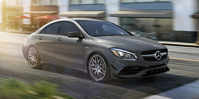 2017 Mercedes-Benz CLA CLA45 AMG Coupe