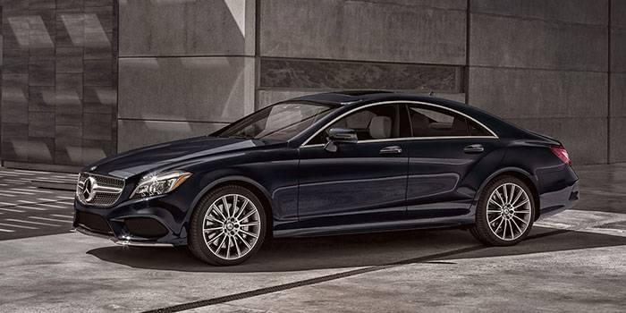 2017 Mercedes-Benz CLS CLS550 Coupe 4MATIC®