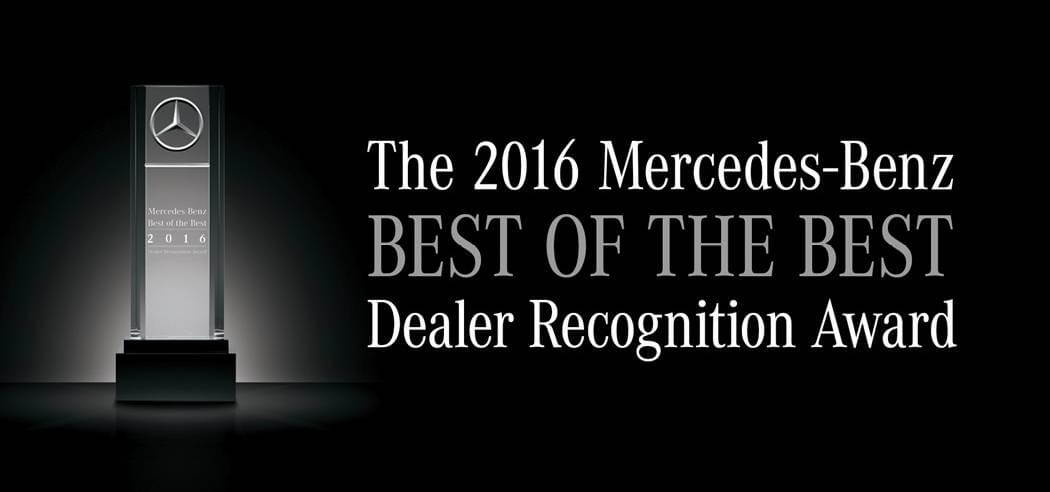 Best of the Best Dealer Recognition Award