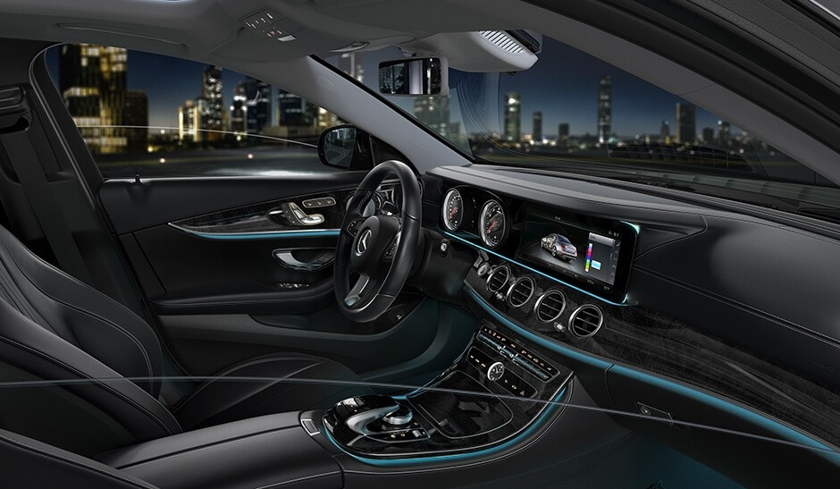 2018 Mercedes-Benz E-Class 300 Sedan Interior Features