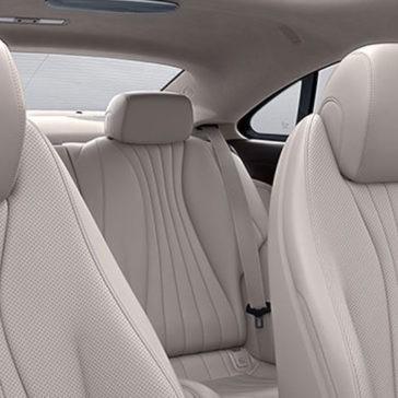 2018 Mercedes-Benz E-Class Coupe Seating
