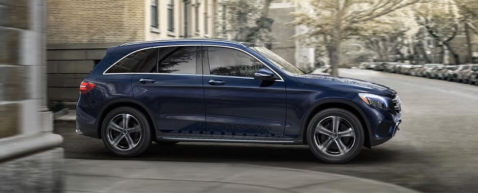 2018 Mercedes-Benz GLC blue exterior
