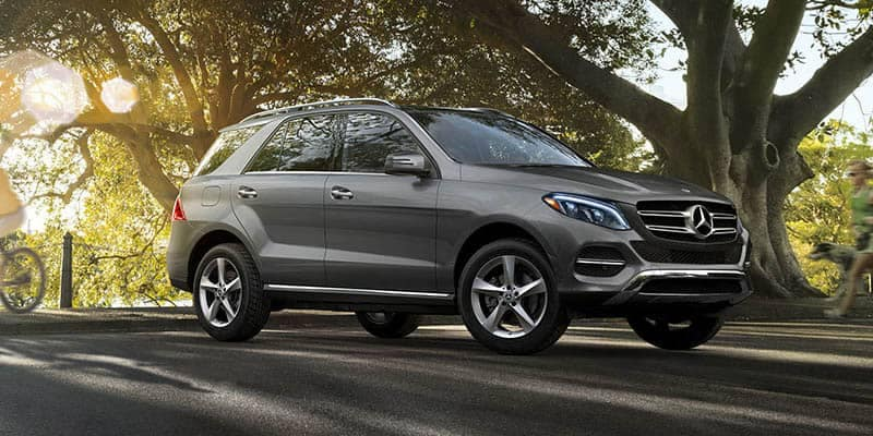 2018 Mercedes-Benz GLE Parked at Park