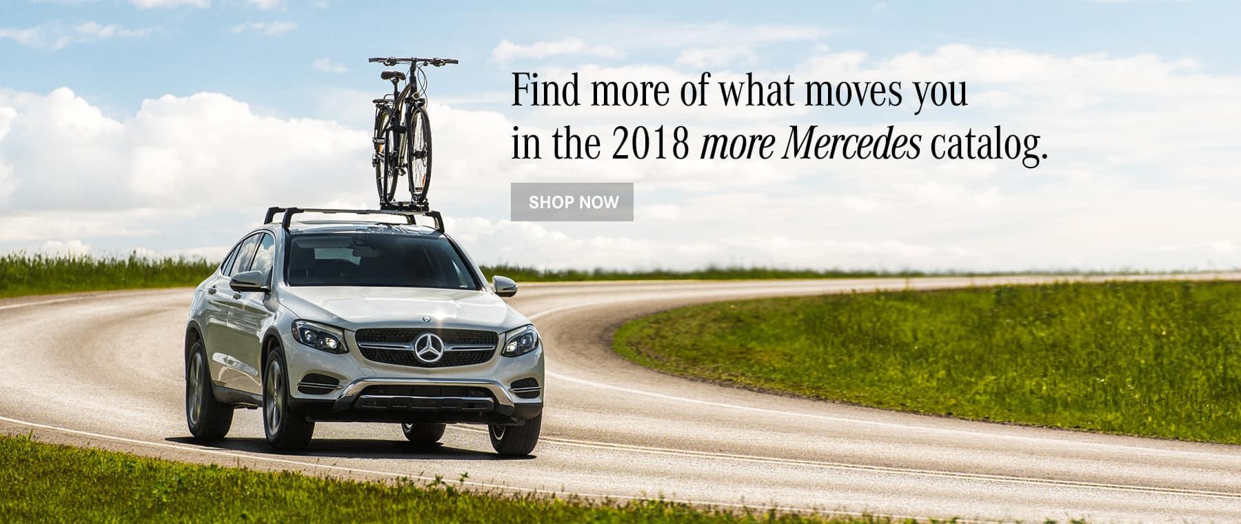 2018 Mercedes-Benz Catalog Banner