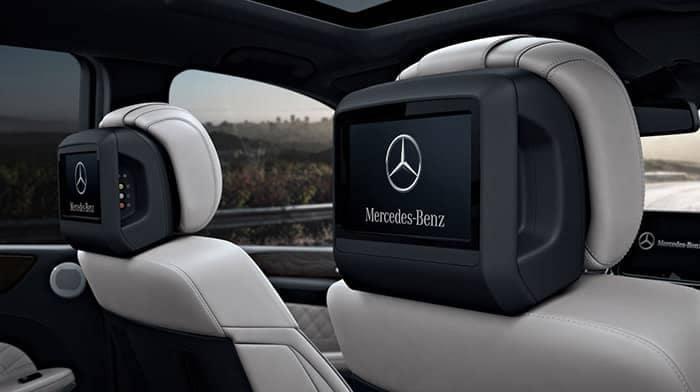 2018 Mercedes-Benz GLS Rear Entertainment System