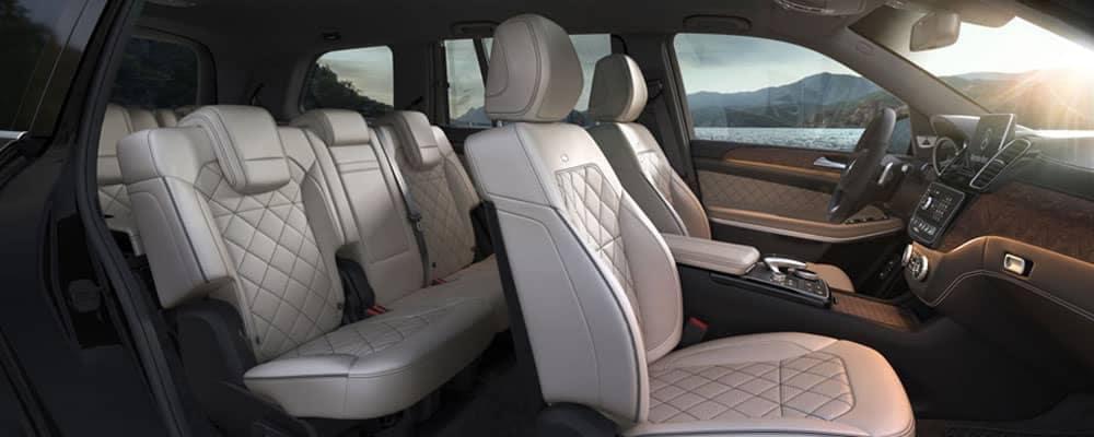 Mercedes-Benz GLS Interior Seating