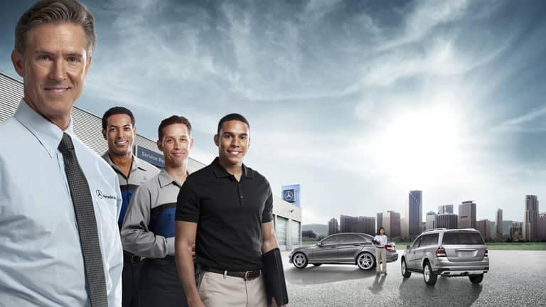 Certified Mercedes-Benz Support Team