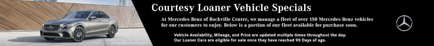 Loaner Vehicle Banner