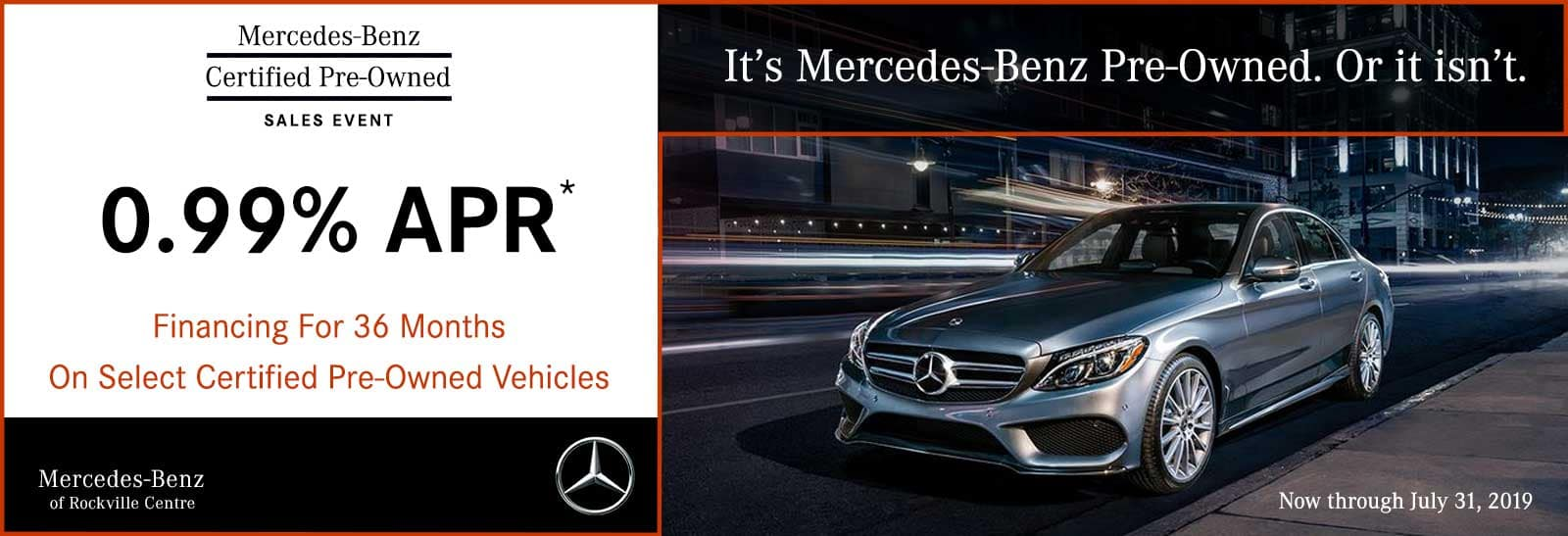 Mercedes Benz Lease Deals 0 Down >> Pre Owned Mercedes Benz Specials Mercedes Benz Of Rockville Centre
