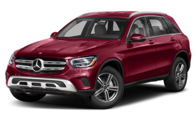 2020 mercedes benz glc red exterior