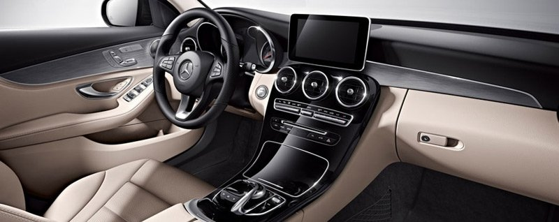 2017 Mercedes-Benz C300 Sedan Interior