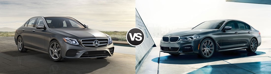2017 Mercedes-Benz E-Class vs 2017 BMW 5 Series