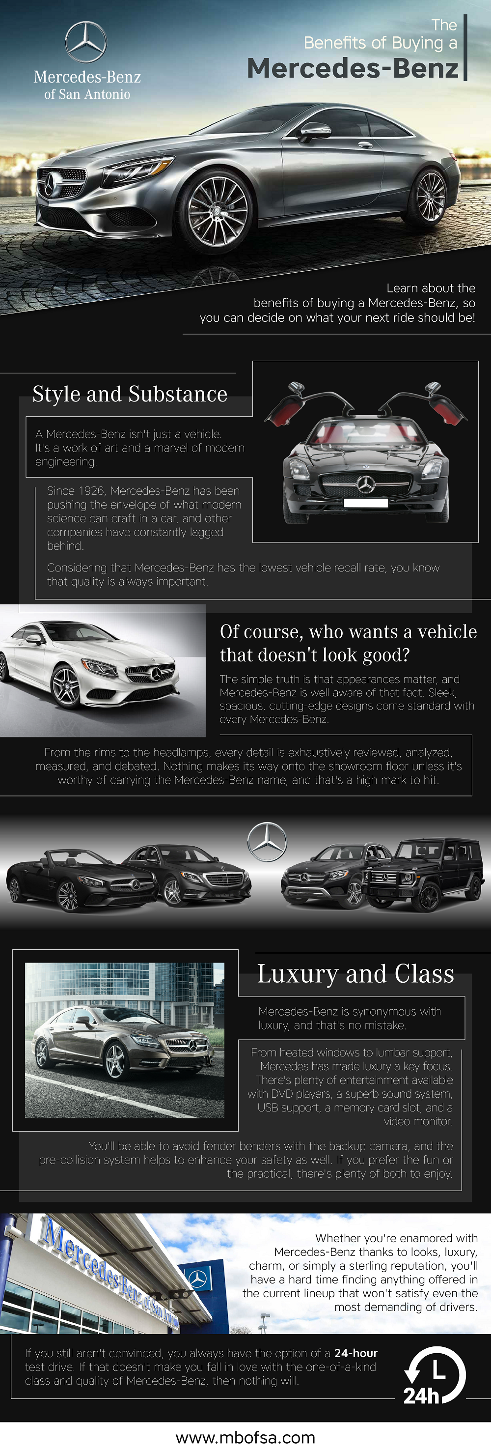 The Benefits of Buying a Mercedes-Benz