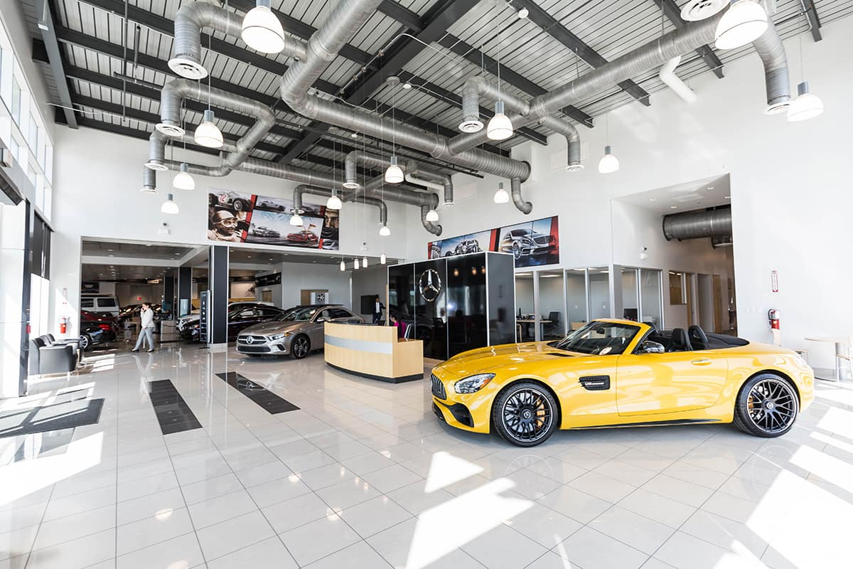 Mercedes San Antonio showroom