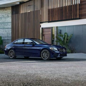 2020 MB C-Class Parked