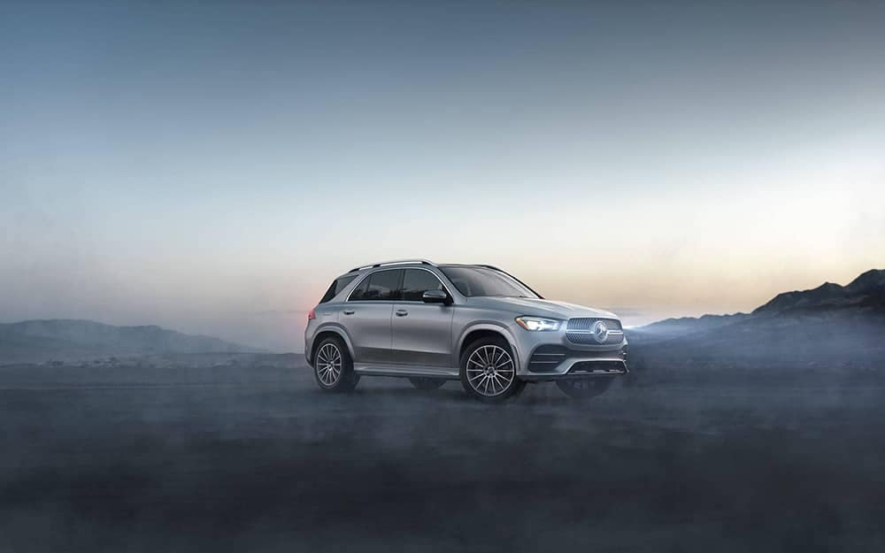 2020 MB GLE In Foggy Morning