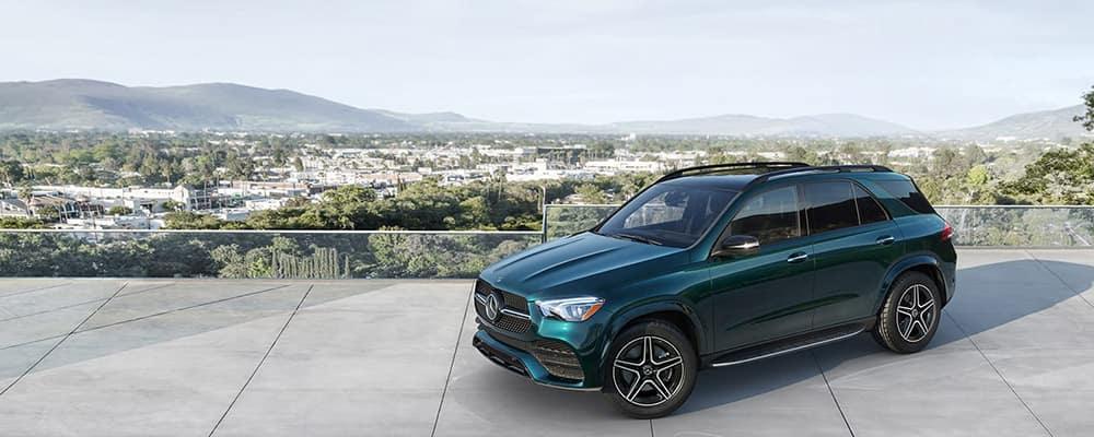 2020 Mercedes-Benz GLE high up