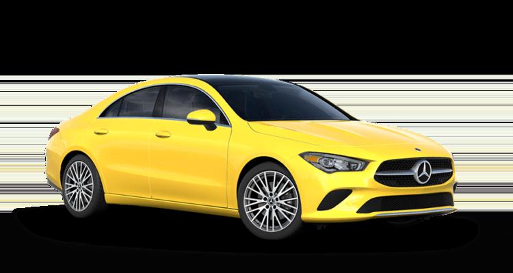 2020 MB CLA Yellow