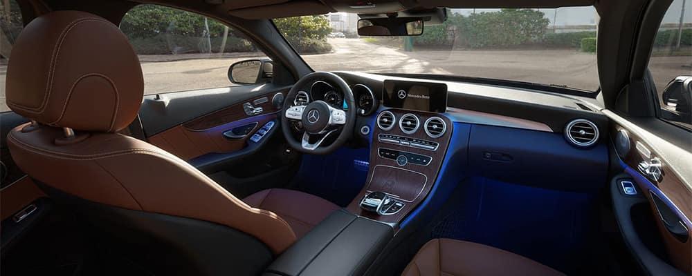 Mercedes-Benz C-Class Interior Front Dashboard