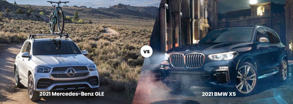 2021 Mercedes-Benz GLE vs 2021 BMW X5
