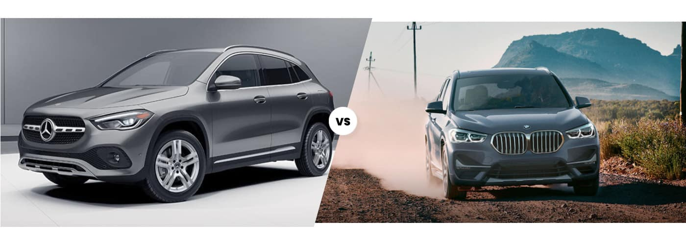 2021 Mercedes-Benz GLA vs 2021 BMW X1 side by side comparison
