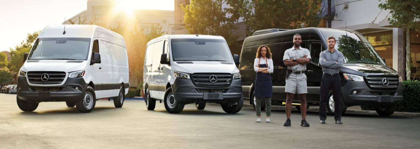 2020 Mercedes-Benz Sprinter Lineup