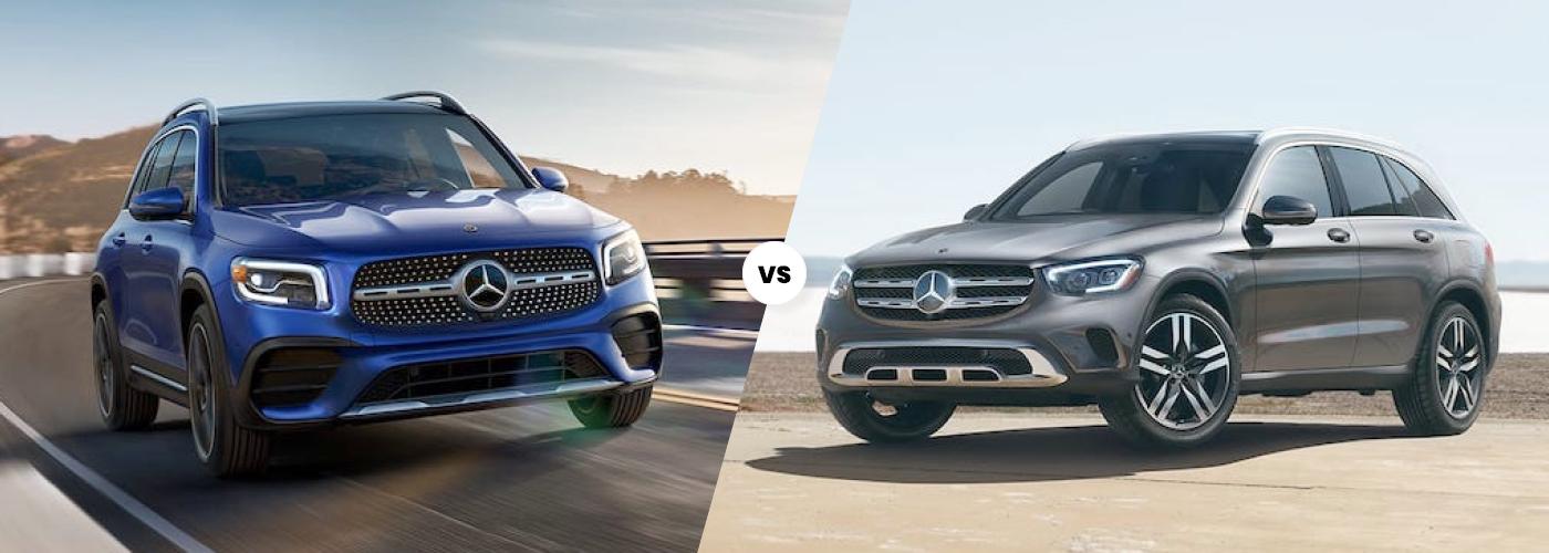 2021 Mercedes-Benz GLB vs GLC