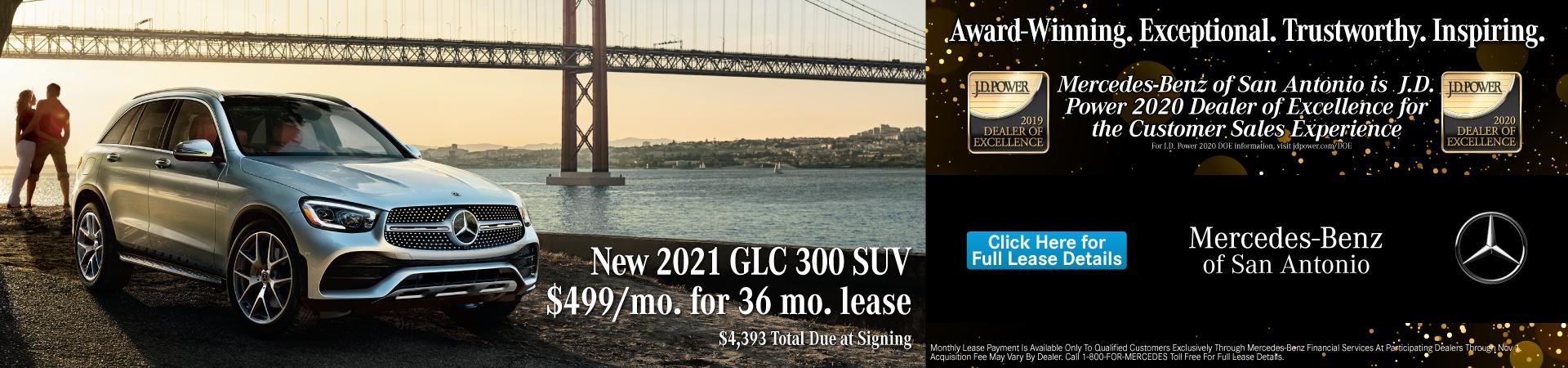 2021 GLC 300 SUV