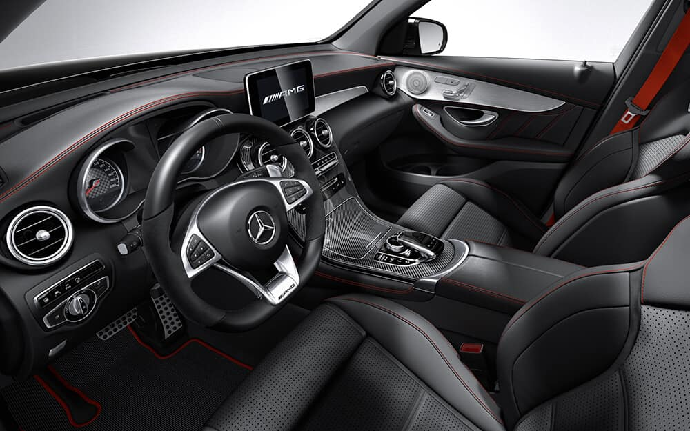 2018 Mercedes-Benz AMG GLC front interior