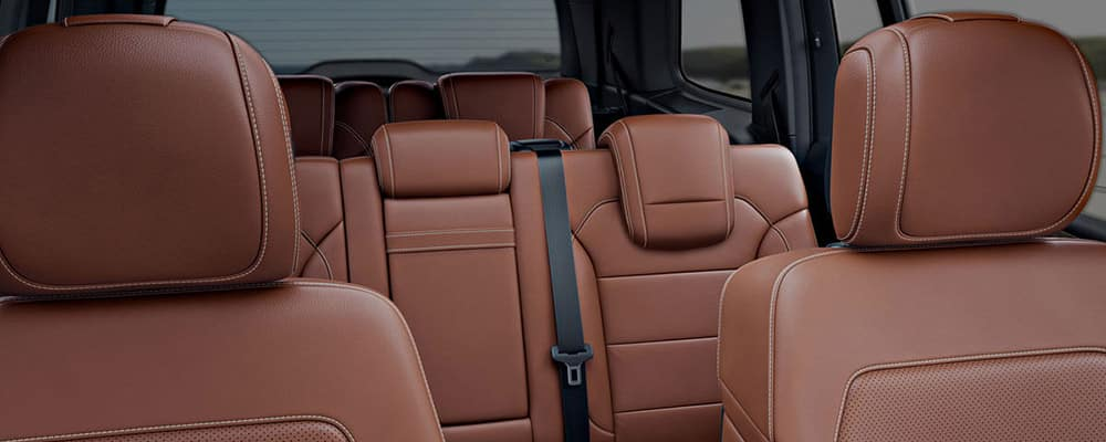 2017 GLS interior seating