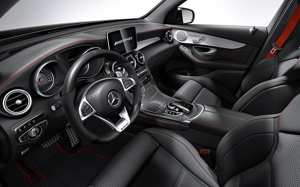 2018 MB AMG GLC 43 Interior