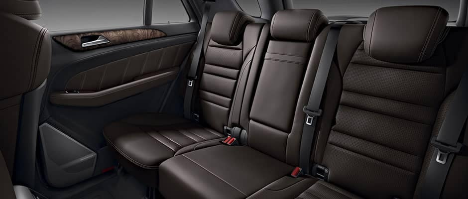 2019 Mercedes-Benz GLE back seating