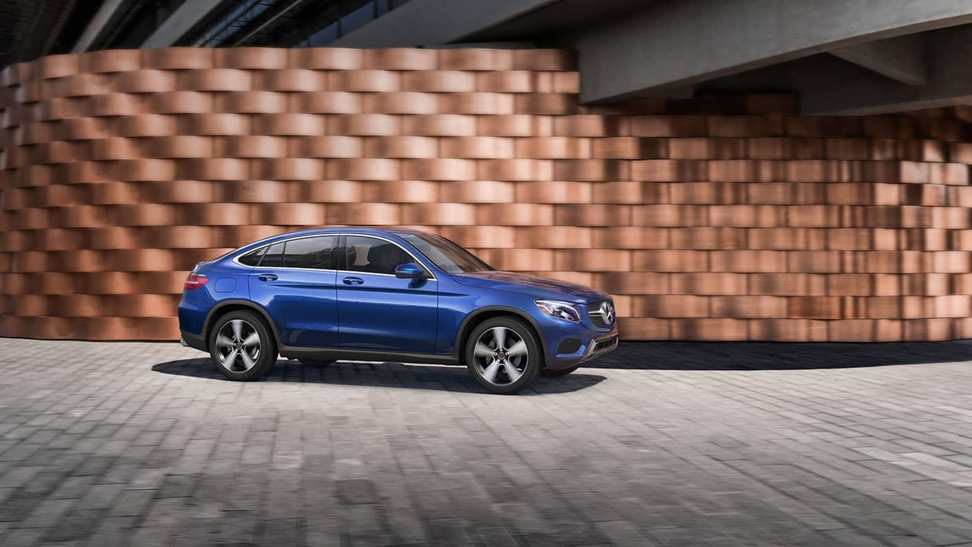 2018 Mercedes-Benz GLC blue