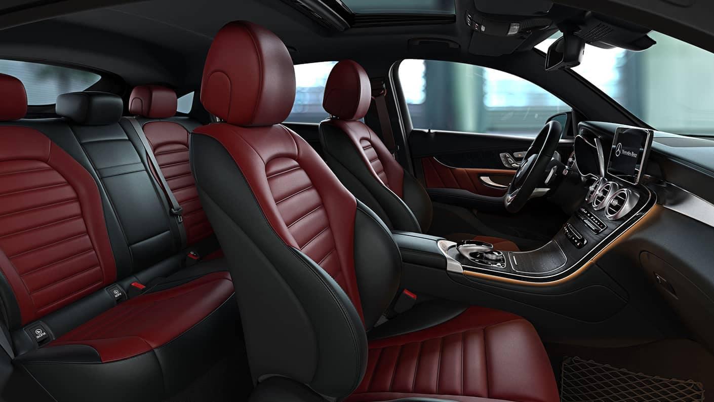 2018 Mercedes-Benz GLC interior front seats