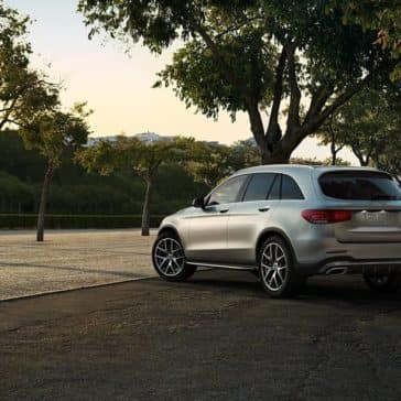 2020 MB GLC Rear