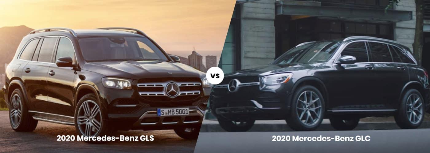2020 Mercedes-Benz GLS vs. 2020 Mercedes-Benz GLC