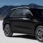 Black Mercedes-Benz GLE