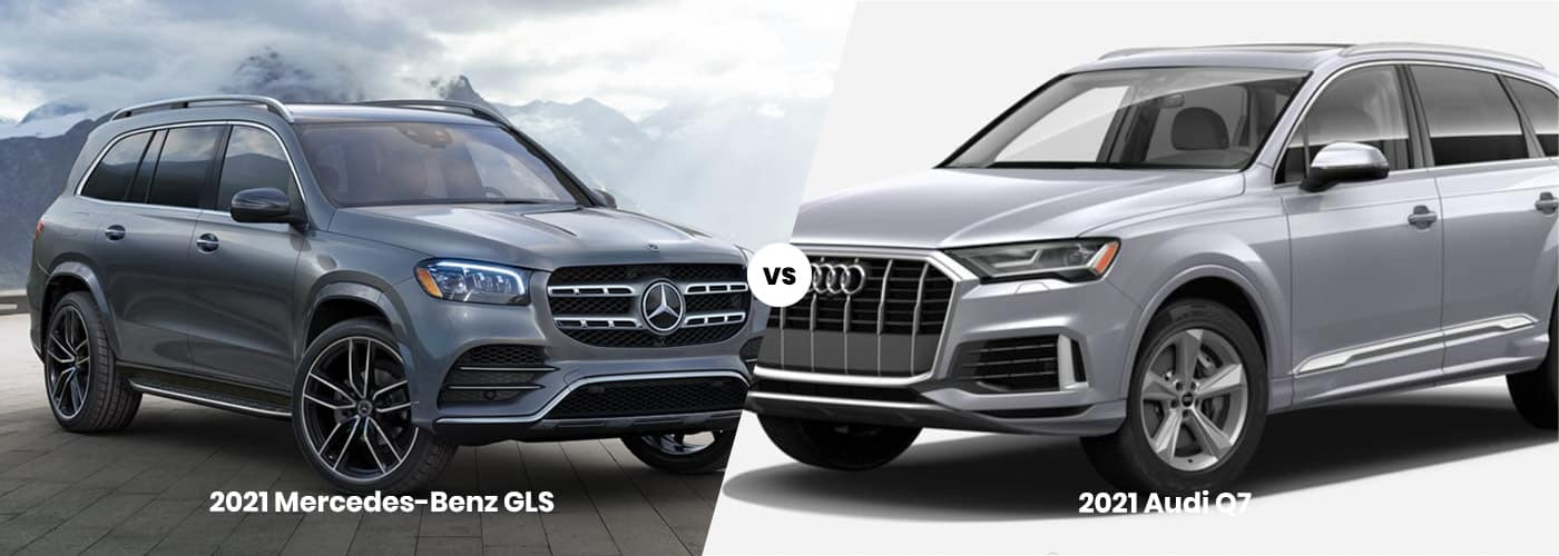 Mercedes-Benz of GLS vs. Audi Q7