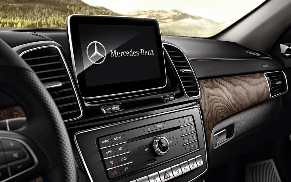 2018 Mercedes-Benz GLE Dashboard Features