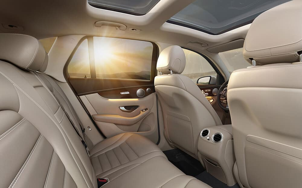 2018 Mercedes-Benz GLC Interior Seating and Features