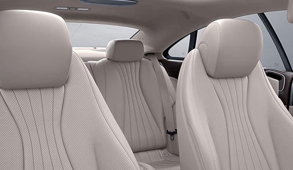 2018 Mercedes-Benz E-Class Interior Seating