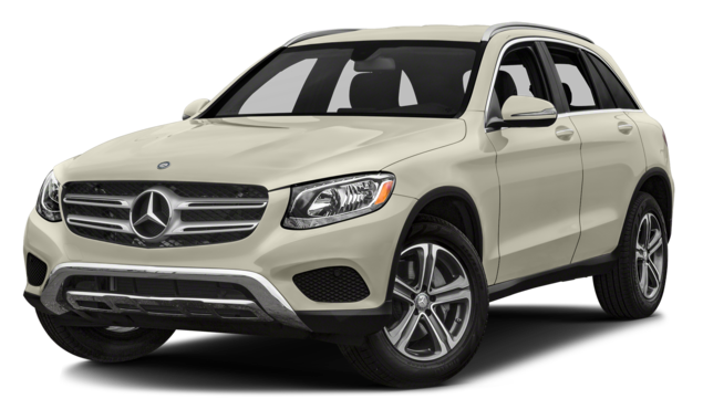White Mercedes-Benz GLC