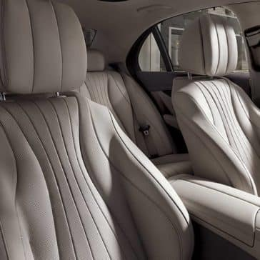 2019 Mercedes-Benz E-Class front seats