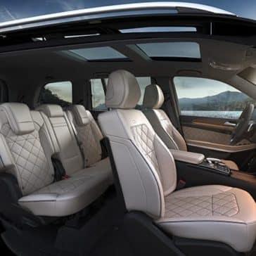 2019 Mercedes-Benz GLS Seating
