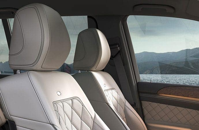 GLS SUV front seats