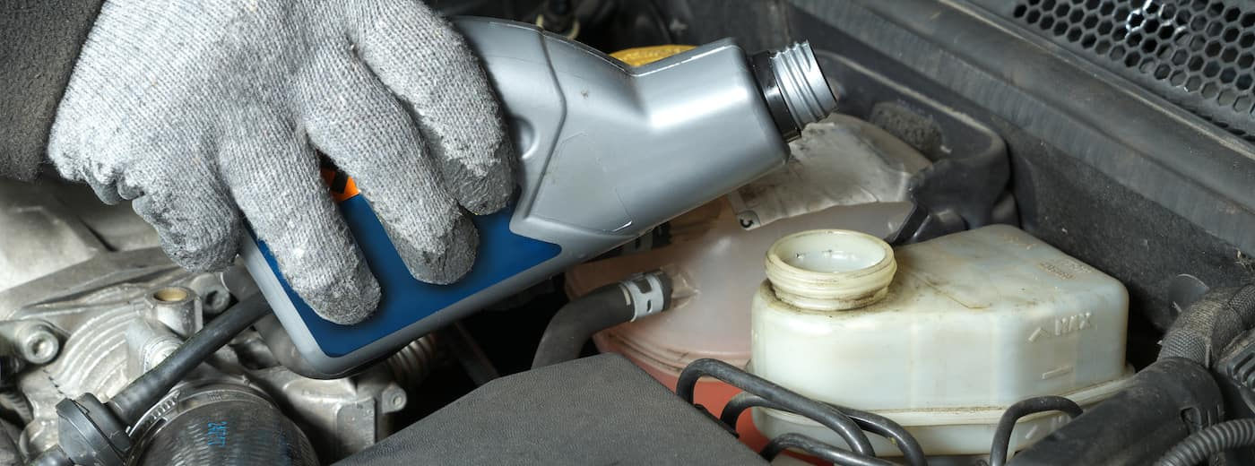 brake fluid topping up