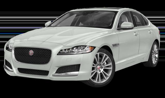 2019 jaguar xf white model